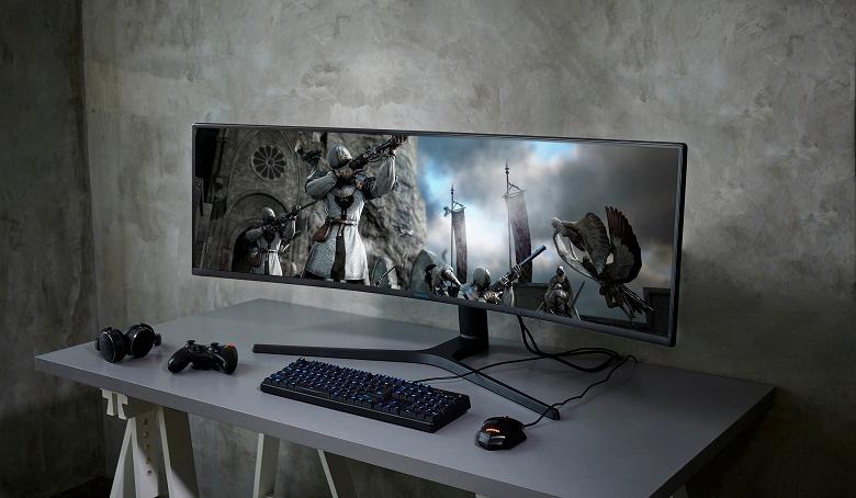Samsung хочет, чтобы в консолях Xbox появилась поддержка сверхширокоформатных мониторов
