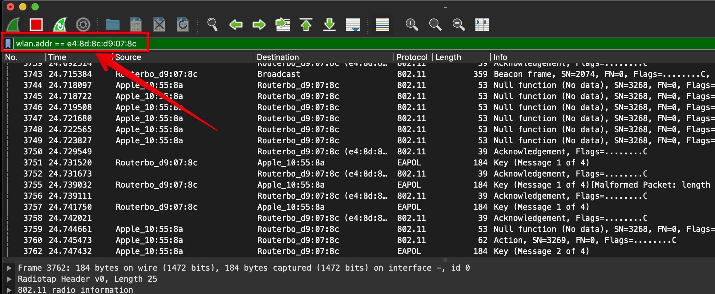 Похек Wi-Fi встроенными средствами macOS - 9