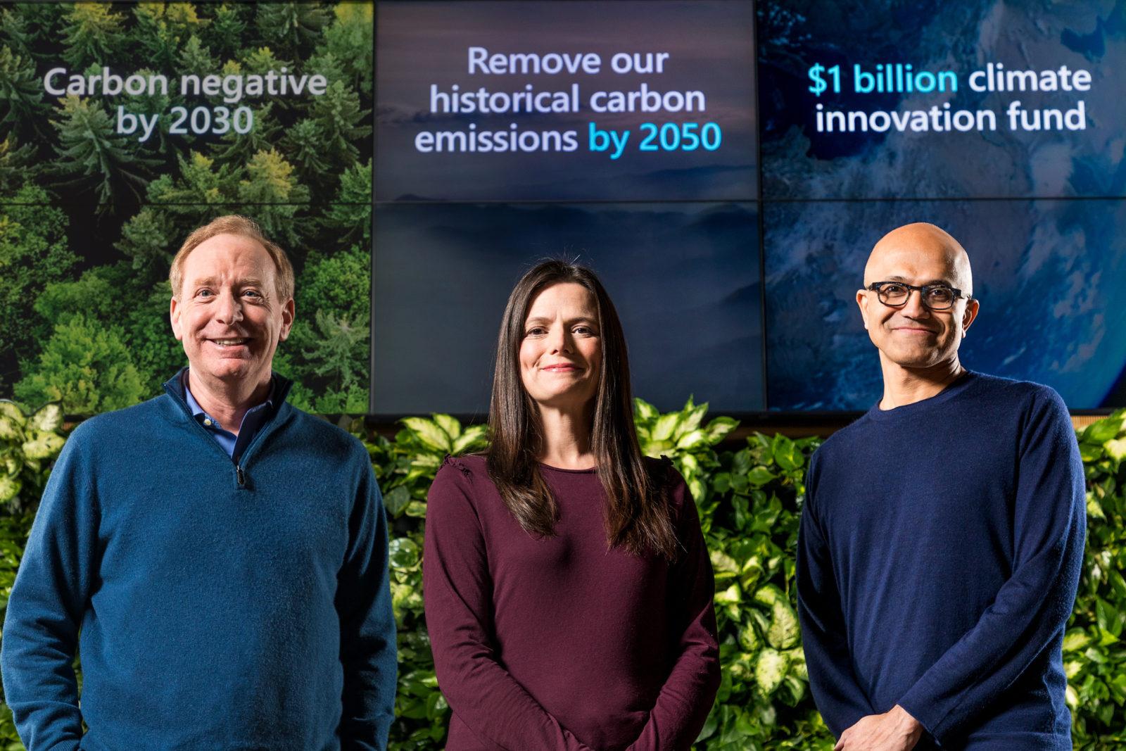 Microsoft полностью перейдет на отрицательный уровень выброса углерода к 2030 году - 1