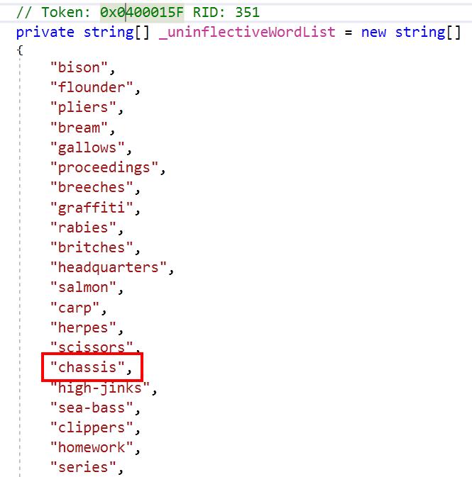 Цензура в исходном коде .NET Framework - 8