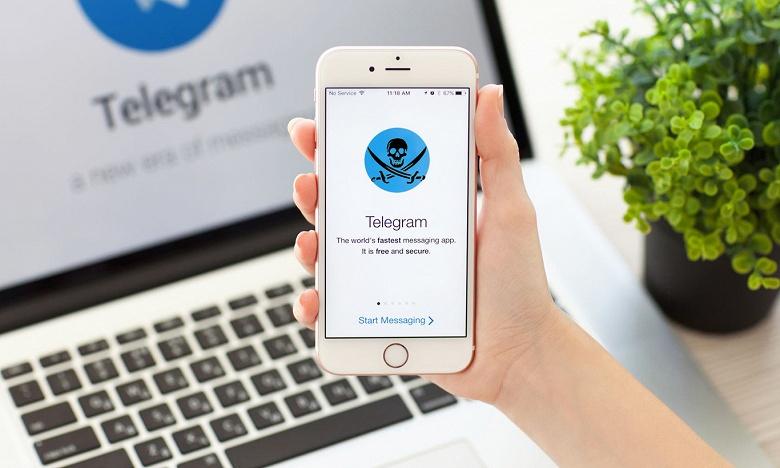 Масштабы пиратства в запрещённом в России Telegram поражают