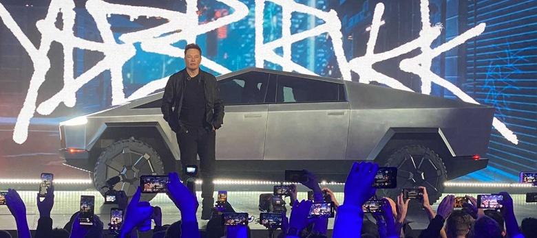 Tesla обеспечена заказами на Cybertruck на три года вперед