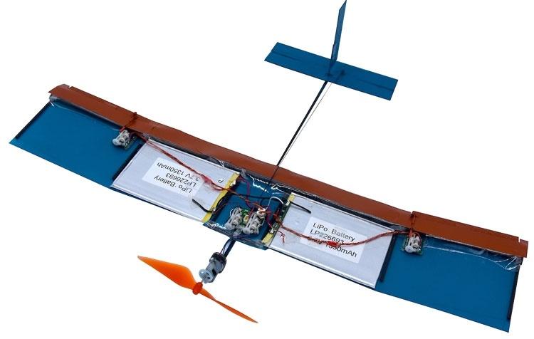 Для миниатюрных летающих дронов предложен новый тип крыла
