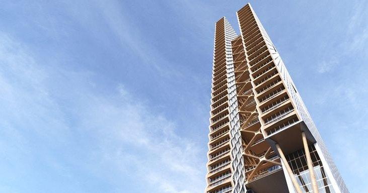Почему древесина лучше бетона: деревянные небоскребы