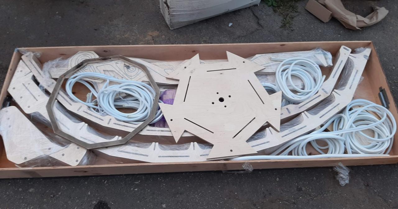 Создание арт-объекта для Burning Man - 11