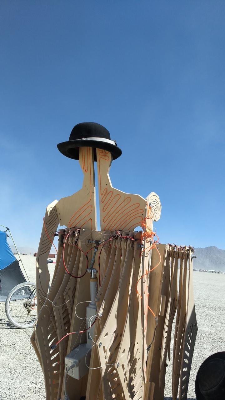 Создание арт-объекта для Burning Man - 16