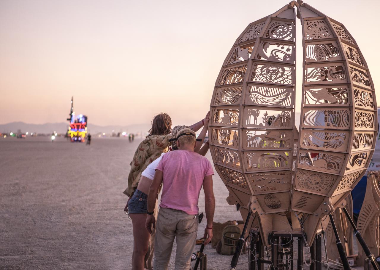 Создание арт-объекта для Burning Man - 29