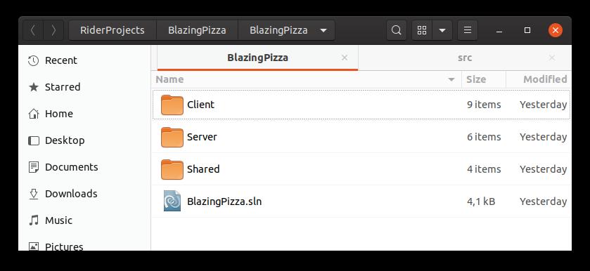 BlazingPizza: приложение на Blazor от начала и до конца. Часть 1. Настройка среды - 6
