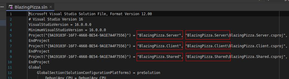 BlazingPizza: приложение на Blazor от начала и до конца. Часть 1. Настройка среды - 7