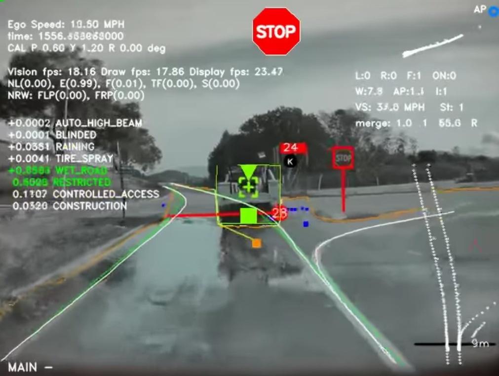 Tesla показала, как видит нейронная сеть Autopilot 3.0, и набирает новых сотрудников в команду разработчиков - 1