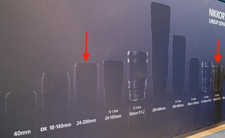 Названы объективы Nikkor Z, которые будут анонсированы следующими