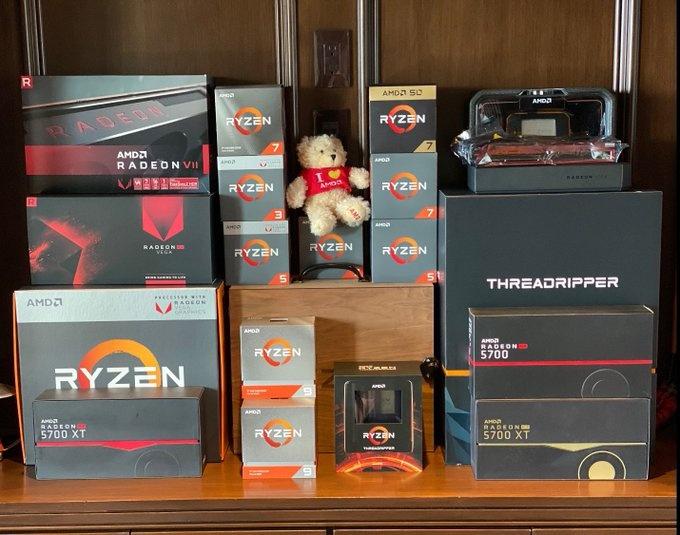 Январская статистика MindFactory: продукция AMD удерживает 85 % объёмов реализации