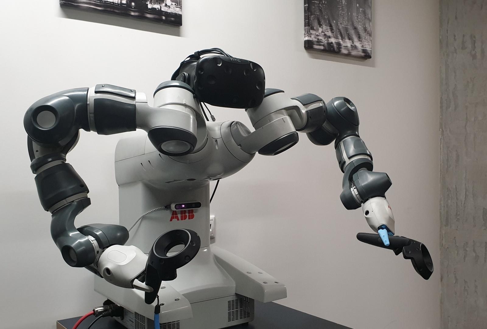 ML,VR & Robots (и немного облака) - 1