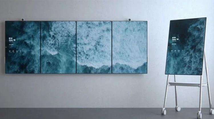 Microsoft отказывается от производства гигантского планшета Surface Hub 2X