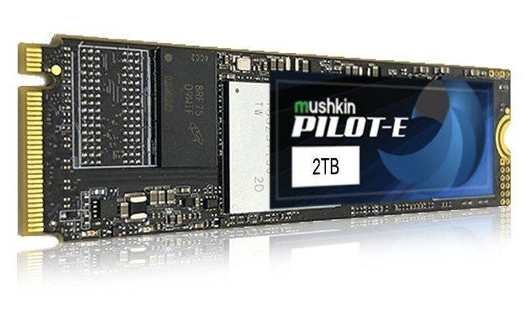 Улучшенные SSD-накопители Mushkin Pilot-E обеспечивают скорость чтения до 3500 Мбайт/с