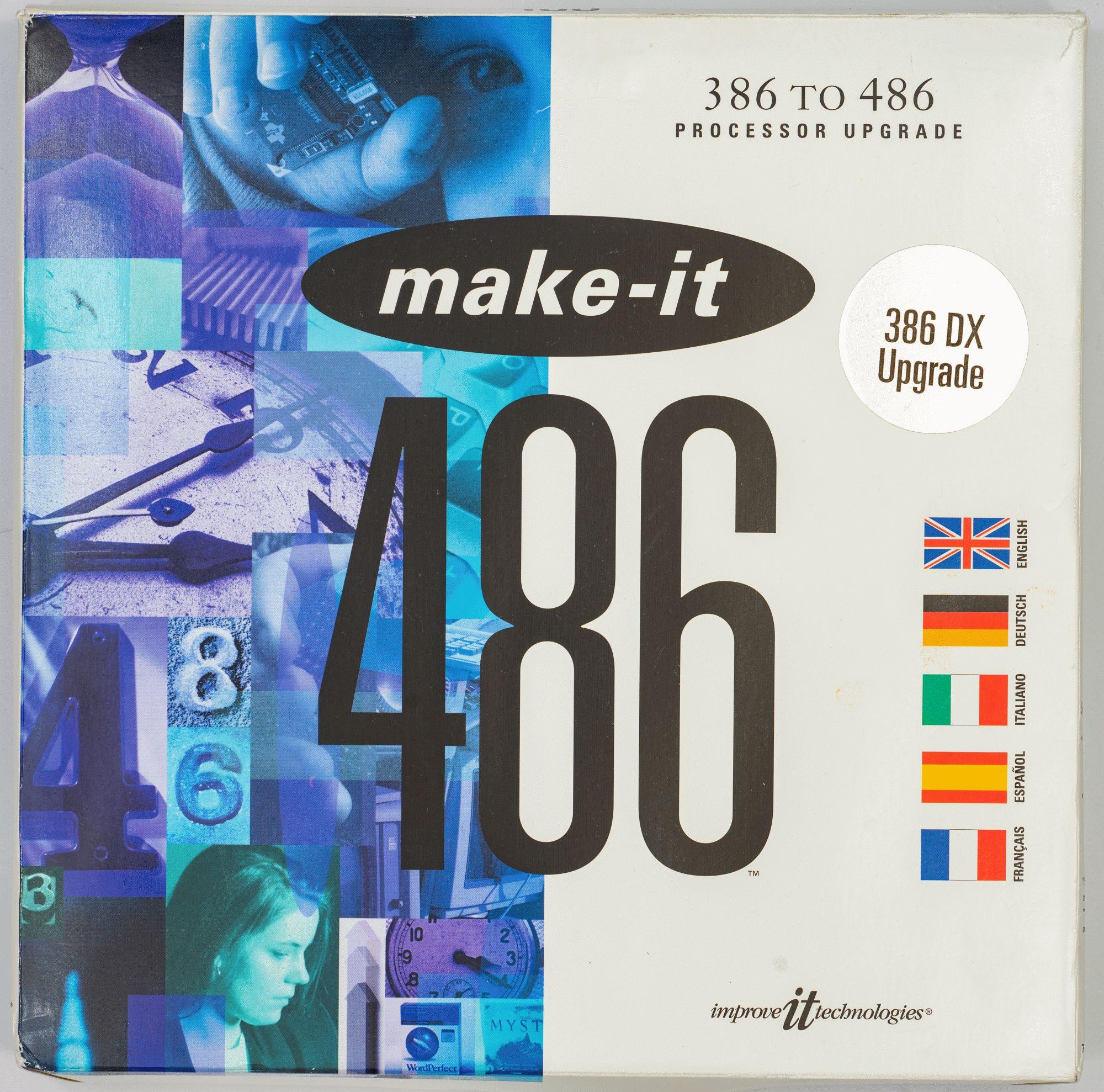 Древности: беспощадный апгрейд 386-го компьютера - 17