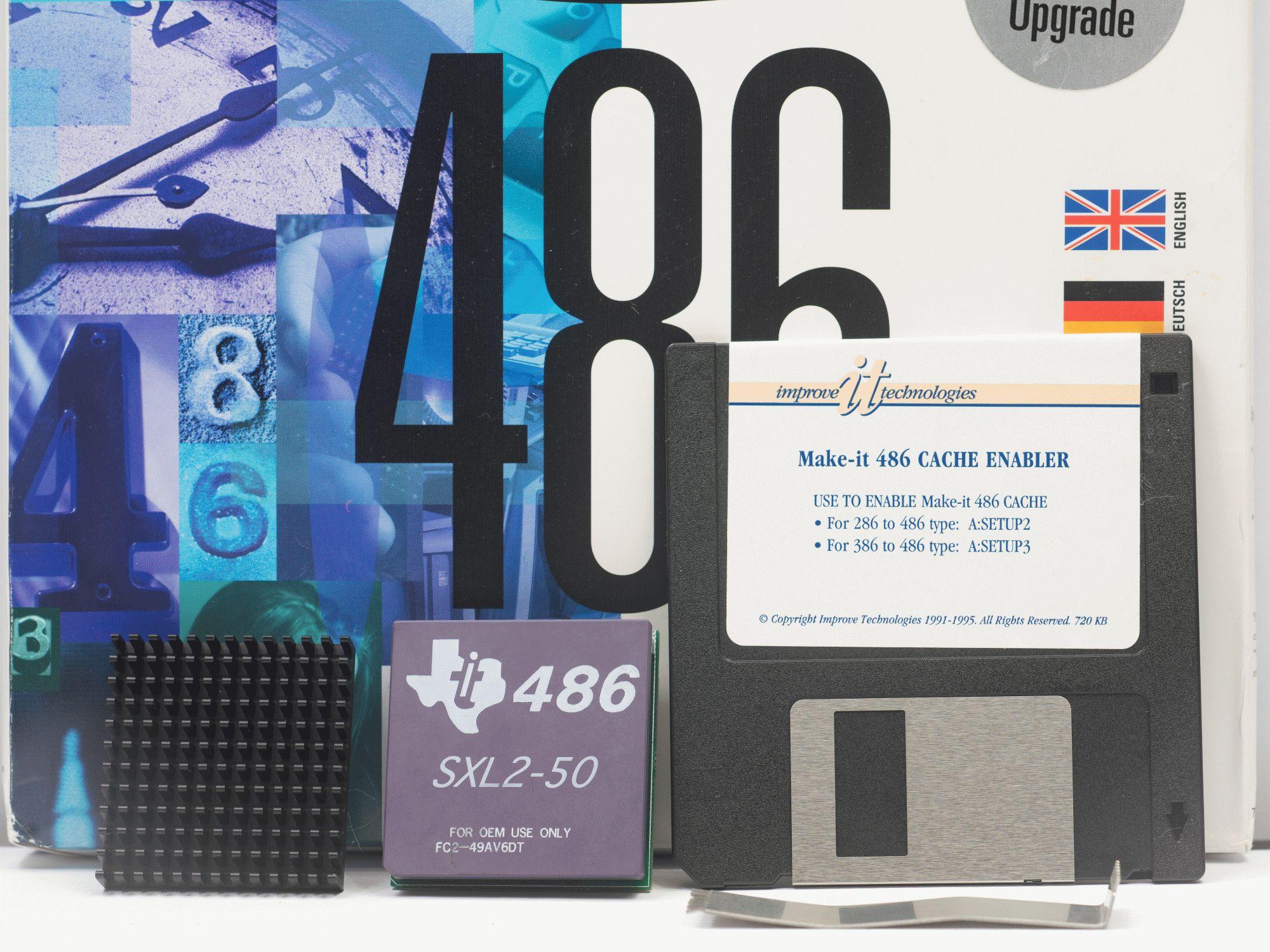 Древности: беспощадный апгрейд 386-го компьютера - 18