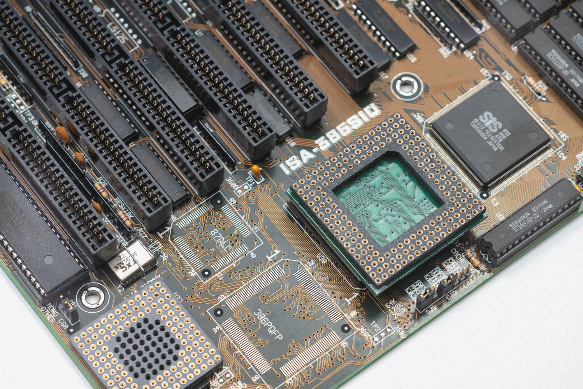 Древности: беспощадный апгрейд 386-го компьютера - 24