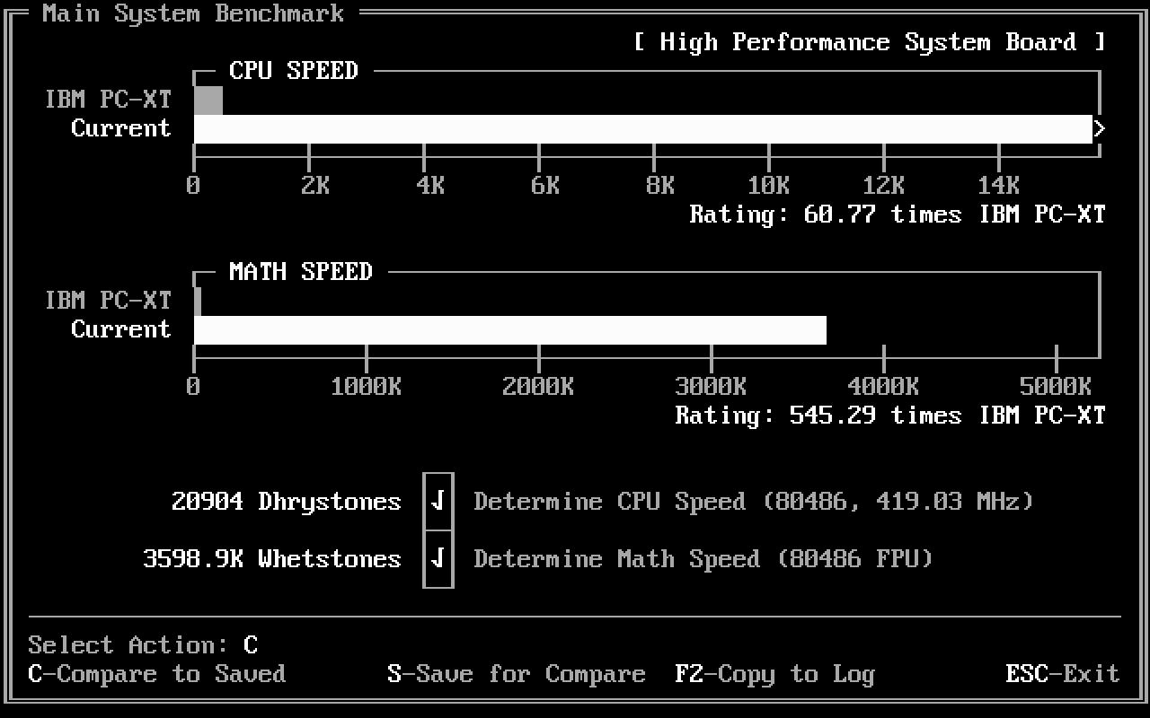 Древности: беспощадный апгрейд 386-го компьютера - 26