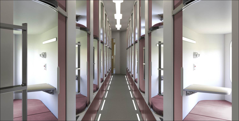 Новый плацкарт — как капсульный отель - 20