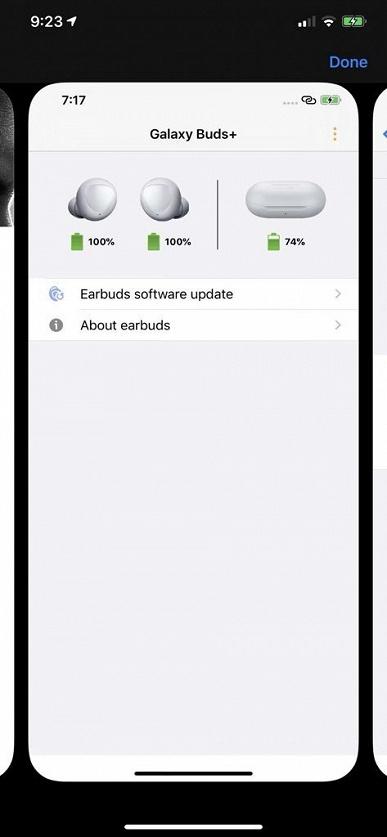 Самая маленькая грядущая новинка Samsung позирует на изображениях в собственном фирменном приложении для iOS