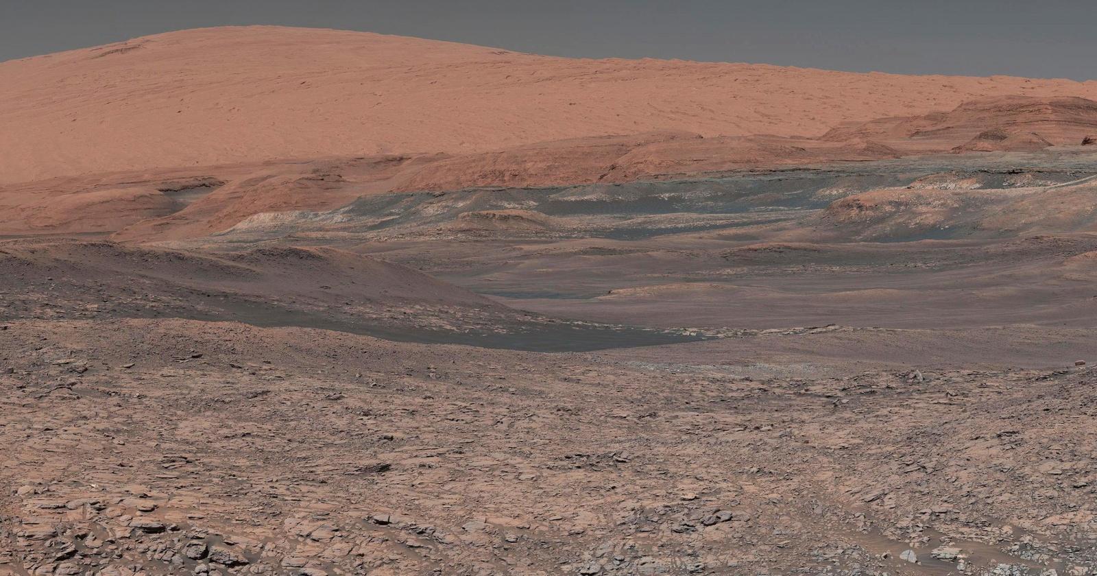 Соленое озеро обнаружено на Марсе
