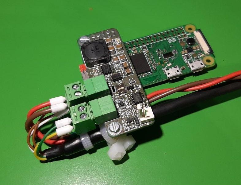 PIndastrial shield — модуль питания и интерфейса RS-485 для Raspberry PI - 5
