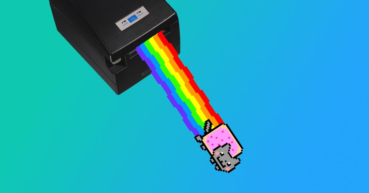 Дешёвая и быстрая печать на чековом термопринтере - 1