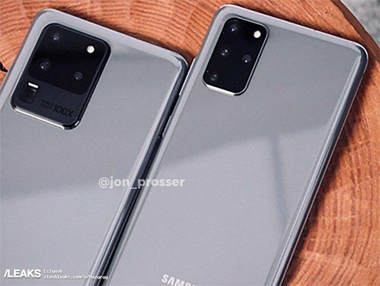 Настоящий Samsung Galaxy S20 сравнили с Galaxy S20 Ultra в реальной жизни. Разница шокирует