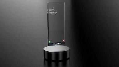 Невероятный Huawei Mate 40 в футуристичном прозрачном дизайне