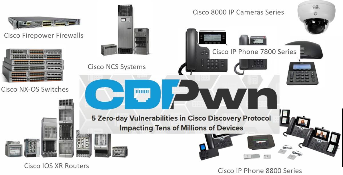 Cisco закрыла пять критических уязвимостей протокола CDP - 1