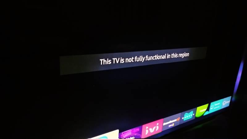 Samsung удалённо блокирует свои «серые» Smart TV в России. UPD — заявление Samsung - 1