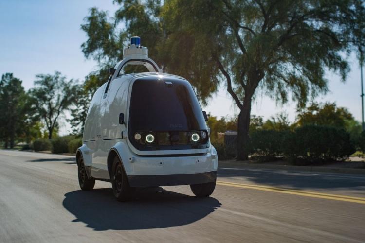 В США дали добро на развёртывание 5000 средств роботизированной доставки Nuro