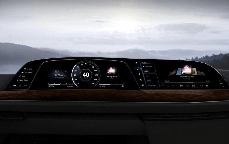Внедорожник Cadillac Escalade первым получит изогнутый дисплей OLED