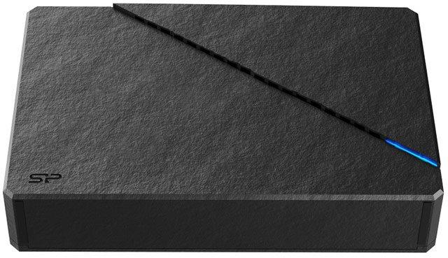 Внешний жесткий диск Silicon Power Stream S07 похож на камень
