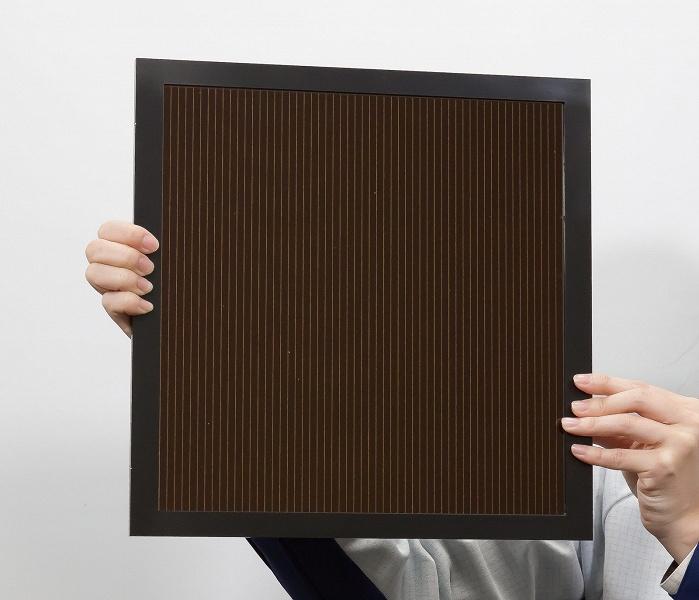 NEDO и Panasonic достигли рекордной эффективности фотоэлектрического преобразования — 16,09% — для модуля самой большой площади на основе перовскита