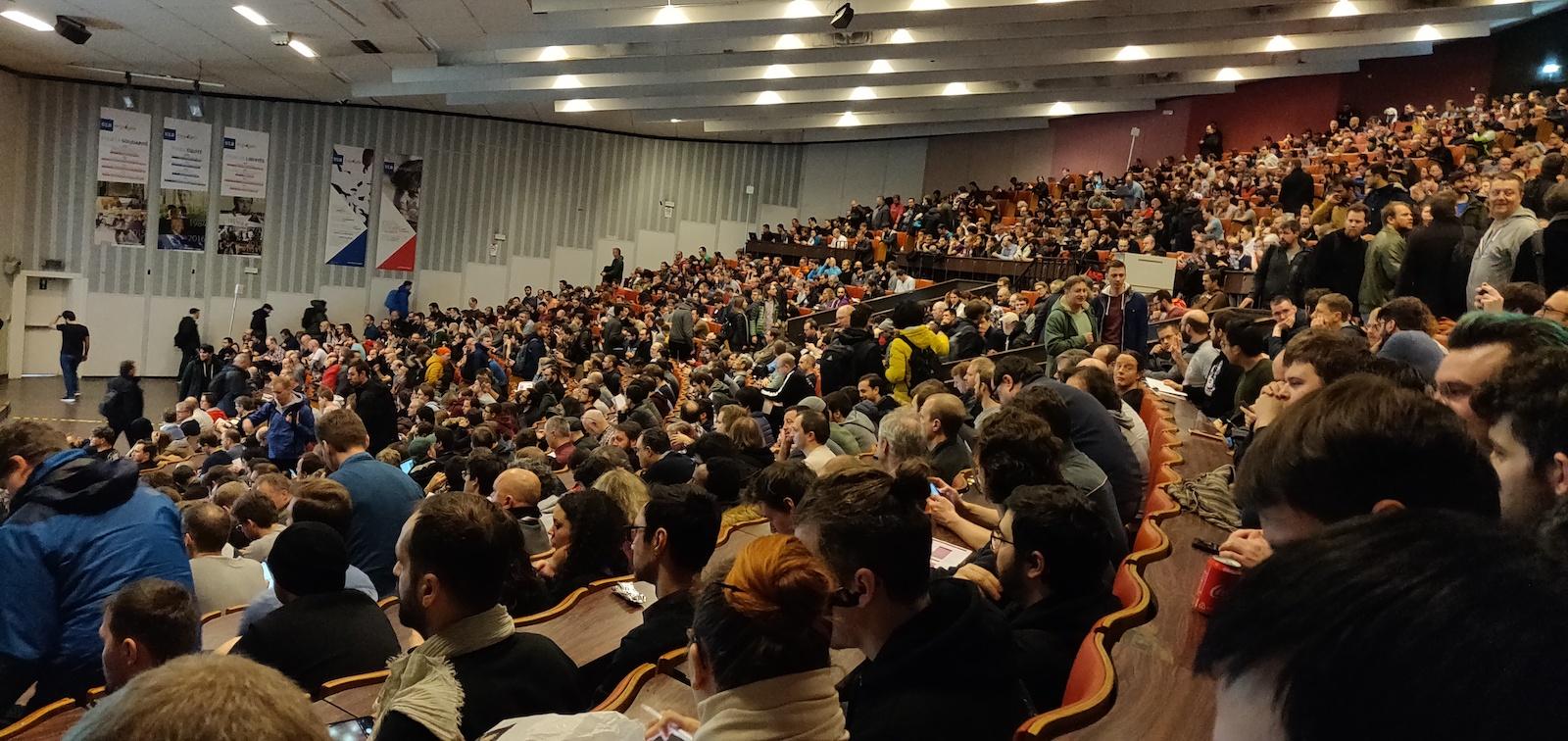 Заметки с полей: одна из самых больших OpenSource конференций FOSDEM 2020 - 1