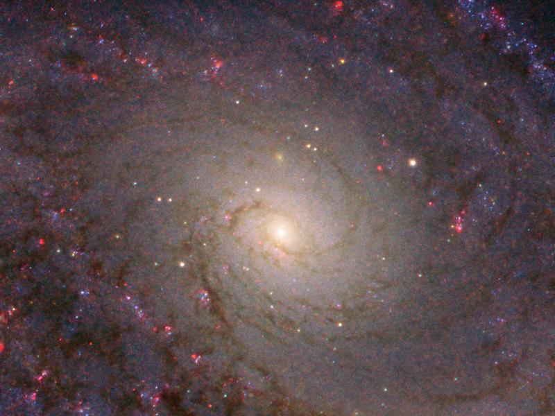 «Хаббл» получил потрясающий снимок спиральной галактики