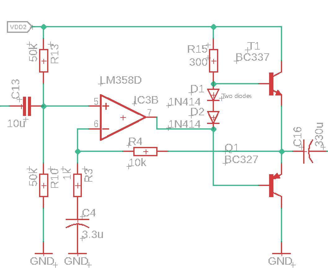 Микрофонный усилитель и УНЧ для ЦАП и АЦП микроконтроллера - 15