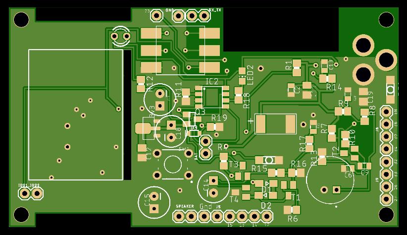 Микрофонный усилитель и УНЧ для ЦАП и АЦП микроконтроллера - 3