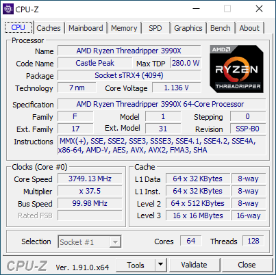 Новая статья: Обзор процессора AMD Ryzen Threadripper 3990X: контрольный выстрел