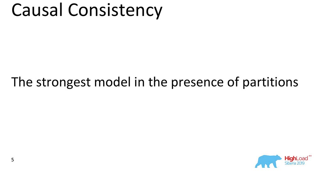 HighLoad++, Михаил Тюленев (MongoDB): Causal consistency: от теории к практике - 6