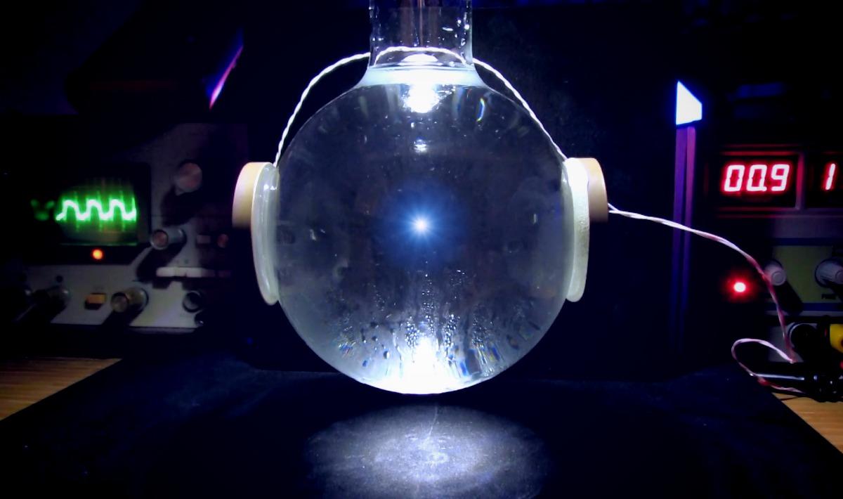 Нейтронная звезда в пробирке. Сонолюминесценция - 1