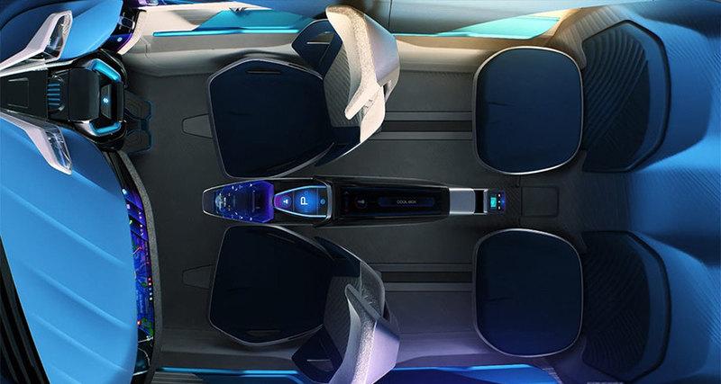 Suzuki показала футуристичный электрокар Futuro-e