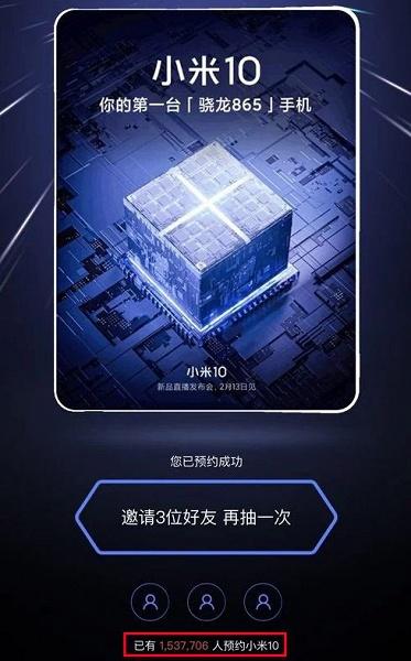 Xiaomi Mi 10 пользуется бешеным спросом несмотря на высокую цену