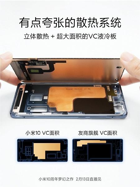 Xiaomi показала внутренний мир Xiaomi Mi 10
