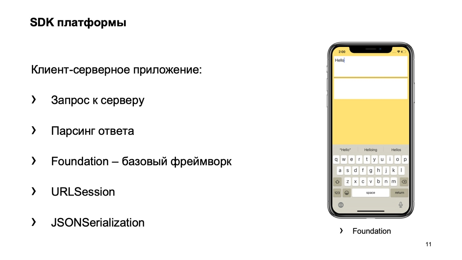 Какие навыки нужны для создания iOS-приложения? Доклад Яндекса - 14