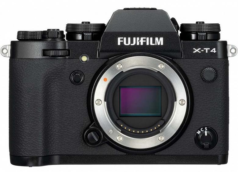 Камере Fujifilm X-T4 приписывают наличие стабилизатора - 1