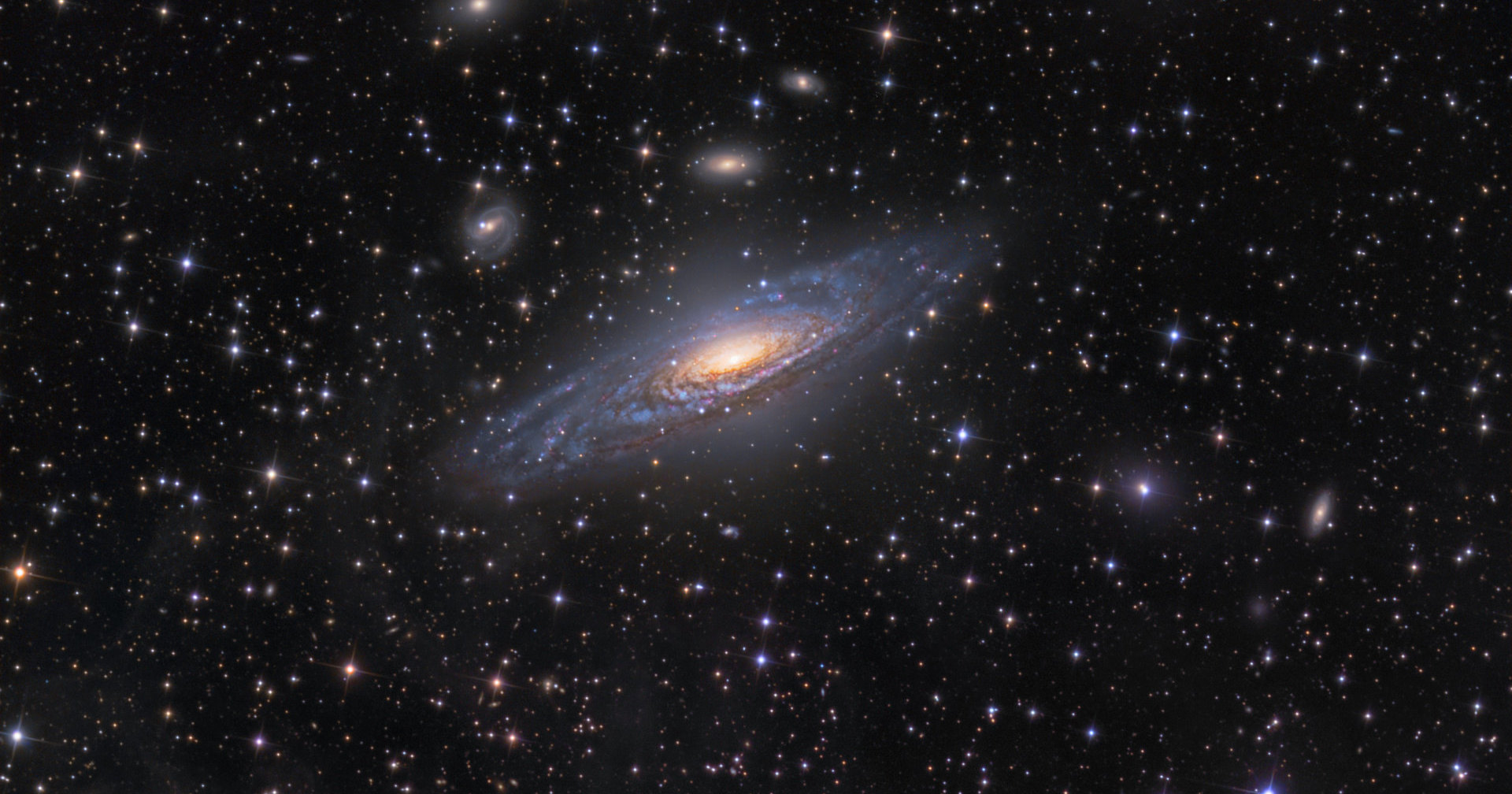 Обнаружена существовавшая в начале времен галактика-монстр