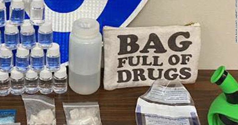Партию наркотиков перевозили в пакете с надписью